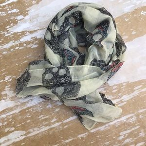 Accessories - Sheer Skull Scarf